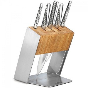 Global 6 Piece Katana Cutlery Block Set