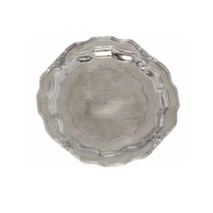 Kensington Nickel Round Tray